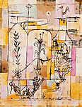 Paul Klee: Hoffman meséi - Színváltozat 1. (id: 12145)