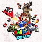 Super Mario Odyssey - World map (id: 16245) poszter