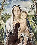 Náray Aurél : Madonna gyermekével (id: 19845) poszter