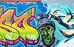 Graffiti, London, Kanada (id: 17246) falikép keretezve