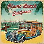 Pismo Beach,California retro poster. (id: 19146)