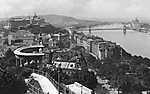 Látkép a Gellérthegyről észak felé (1928) (id: 19748) tapéta