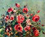 Pierre Auguste Renoir: Rózsás csendélet (id: 1449) tapéta