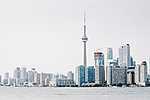 Toronto-i városkép, Kanada (id: 17249) vászonkép óra