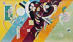 Vaszilij Kandinszkij: Kompozíció IX (id: 19449) vászonkép óra
