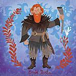 Erős Pista (Tormund Giantsbane) (id: 20249) falikép keretezve