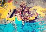 color splash - movin 04_3 (id: 13750) tapéta
