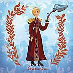Cerceruska (Cersei Lannister) (id: 20250) falikép keretezve