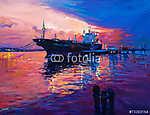 Cargo Ship (id: 4250) poszter