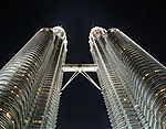 Petrona tornyok Kuala Lumpur (id: 17651) vászonkép óra