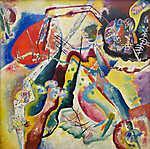 Vaszilij Kandinszkij: Absztrakt kép (id: 19451) tapéta