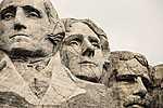 Rushmore-hegy (id: 14352) falikép keretezve