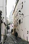 Montmarte-negyed, Párizs (id: 17552) falikép keretezve
