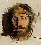 Mednyánszky László: Jézus Krisztus (részlet) (id: 19952) falikép keretezve