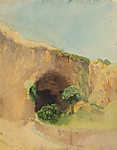 Mednyánszky László: Barlang bejárat (id: 19953) falikép keretezve