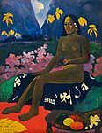 Paul Gauguin: Te aa no areois (id: 3953) falikép keretezve