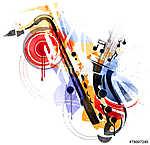 A Sax művészete (id: 10354) vászonkép