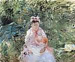 Berthe Morisot: Julie Manet (id: 1954) vászonkép