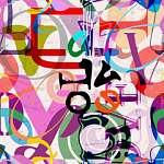 Love - Absztrakt (id: 21754) falikép keretezve