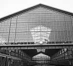 A Nyugati pályaudvar csarnoka (1980) (id: 22454) vászonkép óra