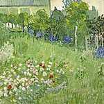 Vincent Van Gogh: Daubigny kertje (id: 2854) vászonkép óra