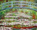 Claude Monet: A japán híd Givernyben (1899) (id: 3854)
