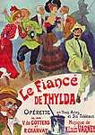 Le Fiancé de Thylda (id: 1055) vászonkép óra