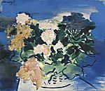 Vaszary János: Virágok vázában (id: 19855) falikép keretezve