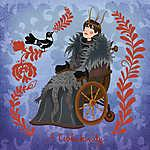 A csókakirály (Bran Stark) (id: 20255) falikép keretezve