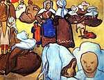 Vincent Van Gogh: Breton asszonyok (1888) (id: 355)