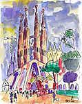 Sagrada Familia (id: 3755) vászonkép