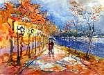 őszi park (C sorozat) (id: 4655) vászonkép