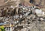Lamayuru gompa - buddhista kolostor az Indus völgyében (id: 5755) vászonkép óra