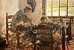 Max Liebermann: Cipészműhely (id: 19656) poszter
