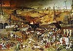 Pieter Bruegel the Elder: A Halál diadala (id: 19756) vászonkép