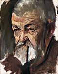 Mednyánszky László: Önarcképes (tanulmány) (id: 20056) poszter