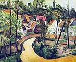 Paul Cézanne: Kanyar (id: 456) többrészes vászonkép