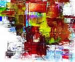 Juan Gris: Kézzel festett háttér. SAJÁT KÉSZÍTÉSŰ. (id: 7956) vászonkép