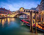 Rialto-híd Venedigben (id: 10057) vászonkép