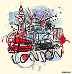 Látogasson el Londonba (id: 10357) vászonkép