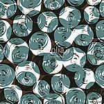 Zökkenőmentes minta (golyócsopda) (id: 11057) vászonkép