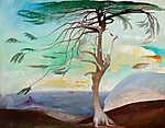 Gustav Klimt: Magányos cédrus (1907) (id: 11857) vászonkép