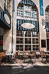 Kávézó terasz (id: 17457) falikép keretezve