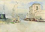 Fiumei kikötő (id: 20057) tapéta