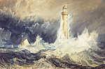 William Turner: A Bell Rock világítótorony (id: 20357) többrészes vászonkép