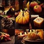 Őszi vacsora kollázs (id: 4757) vászonkép