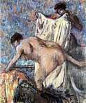 Edgar Degas: Fürdés után, No. 3. (id: 857) falikép keretezve