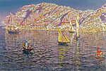 Mallorcai kikötő (id: 12058) poszter