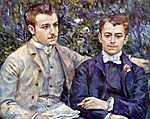 Pierre Auguste Renoir: Charles és Goerge portréja (id: 1458)