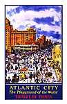 Atlantic City - Travel by Train (id: 1658) poszter
